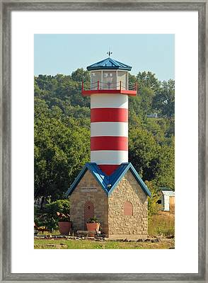 Just For Show Framed Print