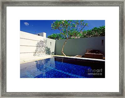 Just Idleness Framed Print
