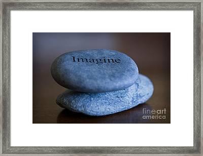 Just Imagine Framed Print