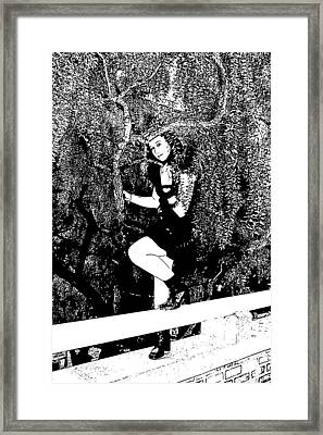 Just In Time Framed Print by Nick David
