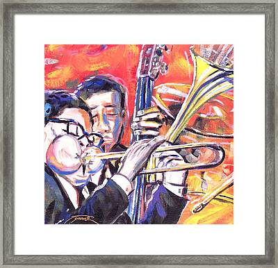 Just Jazz One Framed Print by Jonathan Tyson