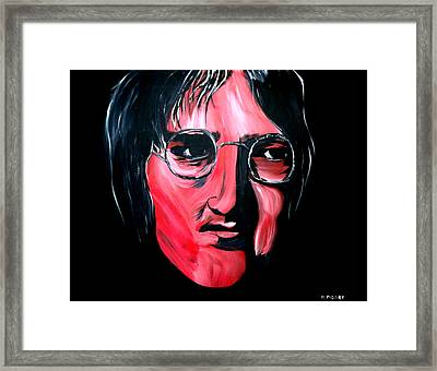 Just John Framed Print by Mark Moore