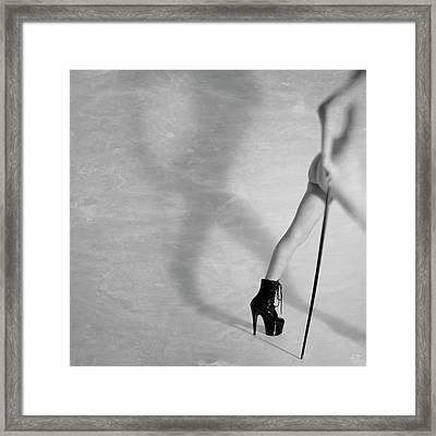 Just Leaving Now... Framed Print
