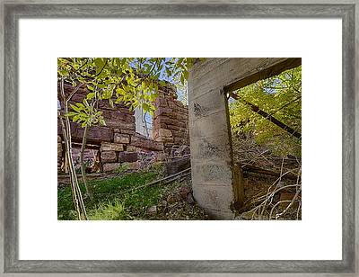 Just Left There Jerome Framed Print by Scott Campbell