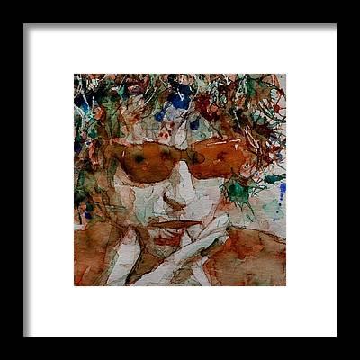 Singer Framed Prints