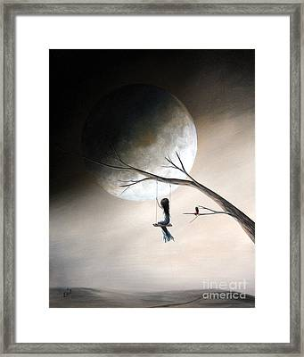 Just Like Heaven By Shawna Erback Framed Print by Shawna Erback