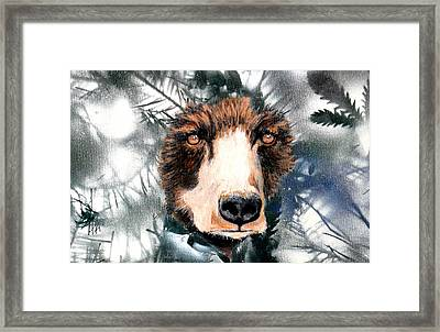 Just Lookin Framed Print by Holly Smith