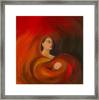 ..just  Love.. Framed Print