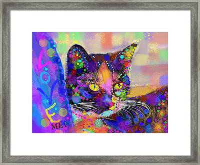 Just Love Me Framed Print by Mary Armstrong