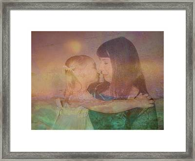 Just Love Framed Print by Shirley Sirois