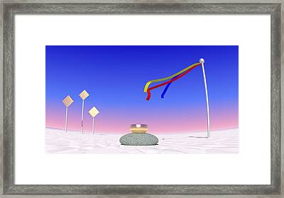 Just Me And The Wind Framed Print by Andreas Thust