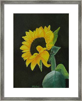 Just Me Framed Print