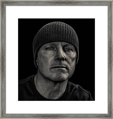 Just Me Framed Print by Randy Turnbow