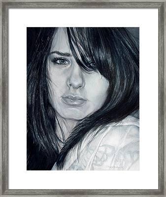Just Me Framed Print by Shana Rowe Jackson