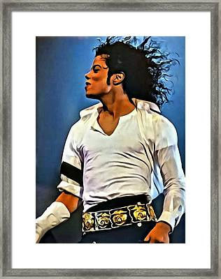 Just Michael Framed Print