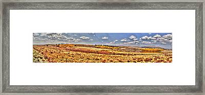 Framed Print featuring the photograph Just North Of Fairplay Colorado by Lanita Williams