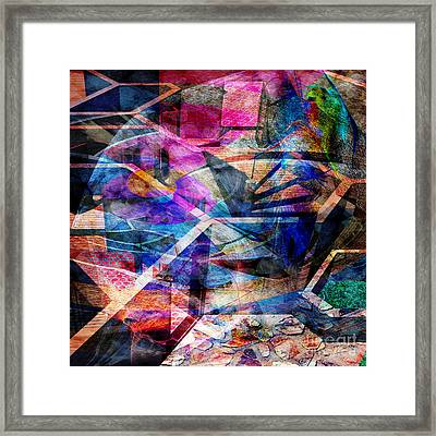 Just Not Wright - Square Version Framed Print