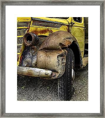 Just One Accident Framed Print