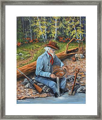 Just One More Pan Framed Print by Julie Townsend