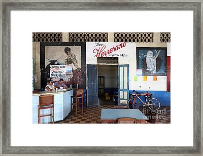 Waiting For Customers Framed Print by James Brunker