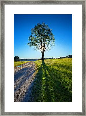 Just Over The Horizon Framed Print by Phil Koch