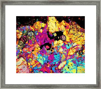 Just Over The Next Hill Framed Print