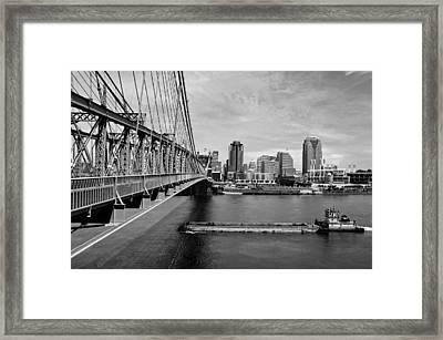 Just Passing Through Framed Print