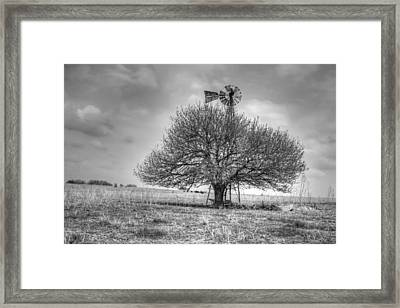Just Plain Kansas Framed Print by JC Findley