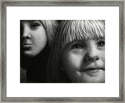 Just Playing Framed Print by Sandra LaFaut
