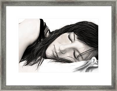Just Rest For Now Framed Print