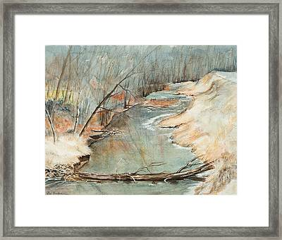 Just Resting Framed Print