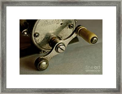 Just Ride Out And Fish Framed Print by Wilma  Birdwell