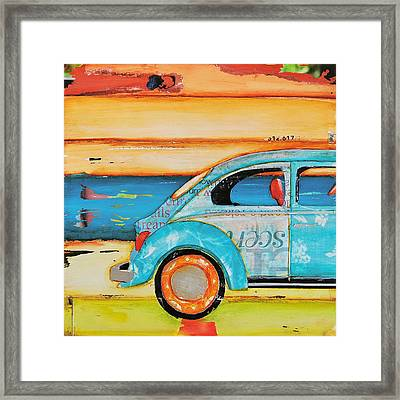 Just Roll With It Framed Print