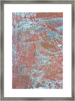 Framed Print featuring the photograph Just Rust by Heidi Smith