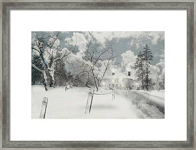 Just Say Yes Framed Print