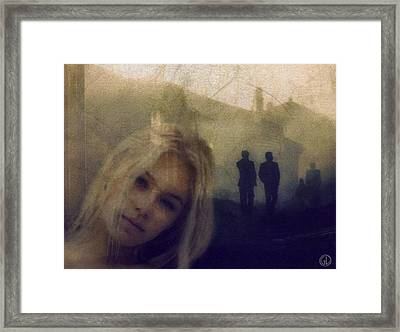 Just Shadows Framed Print by Gun Legler