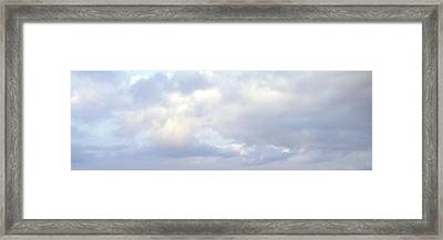 Just Sky Framed Print