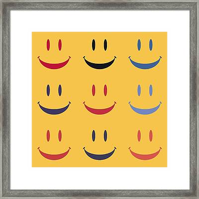 Just Smile Framed Print by Dan Sproul