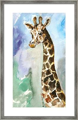 Just So Tall Framed Print by Mary Armstrong