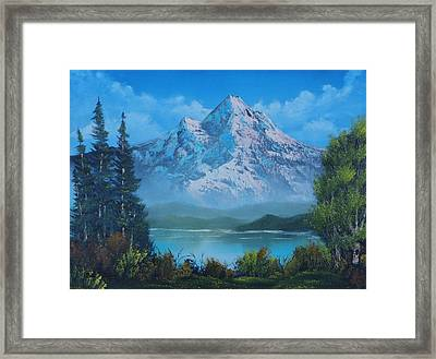 Just The Perfect Day Framed Print