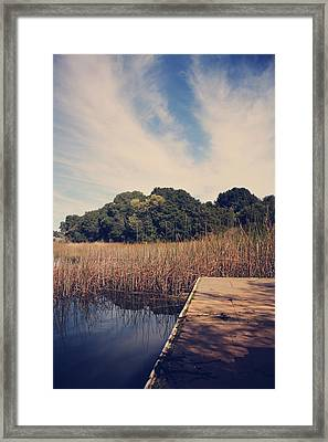 Just To Make This Dock My Home Framed Print