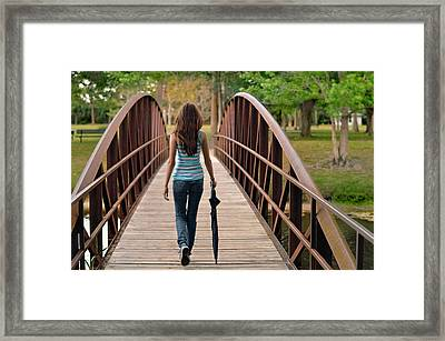 Just Walk Away Renee Framed Print