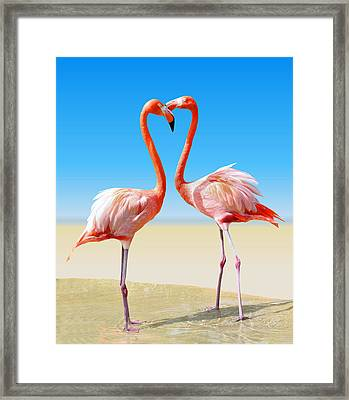 Just We Two Framed Print