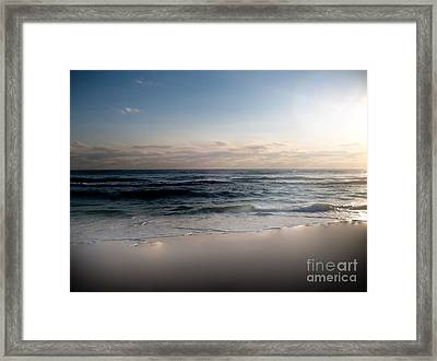 Just When Framed Print by Jeffery Fagan