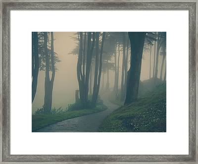 Just Whisper Framed Print
