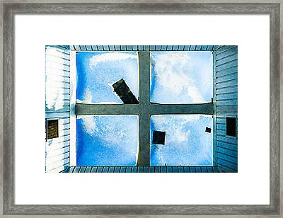 Just Window 1 - Light Framed Print