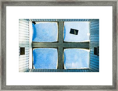 Just Window 2 - Light Framed Print