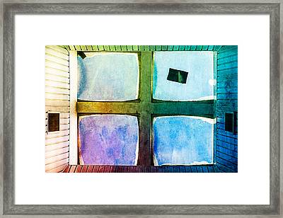 Just Window 2 - Medium Framed Print