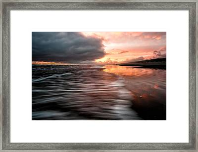 Framed Print featuring the photograph Just You And Me by Brian Bonham