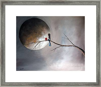 Just You And Me By Shawna Erback Framed Print